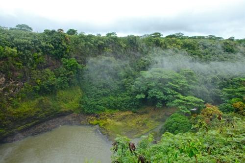Wailua Falls, near Kapaa, Kauai, Hawaii.