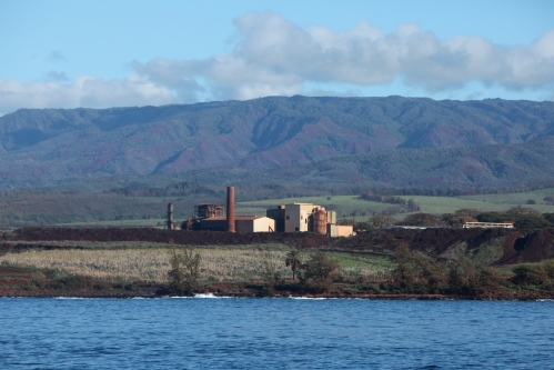 Abandoned sugar mill in Waimea, Kaua'i.
