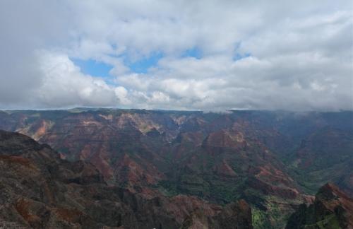 Waimea Canyon Lookout, Kaua'i, Hawai'i.