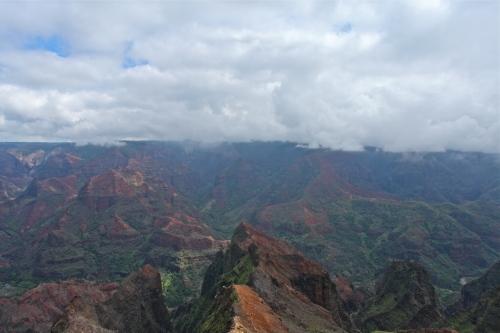 Waimea Lookout, Waimea Canyon, Kaua'i, Hawai'i.