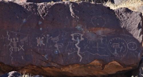 Petroglyph grouping