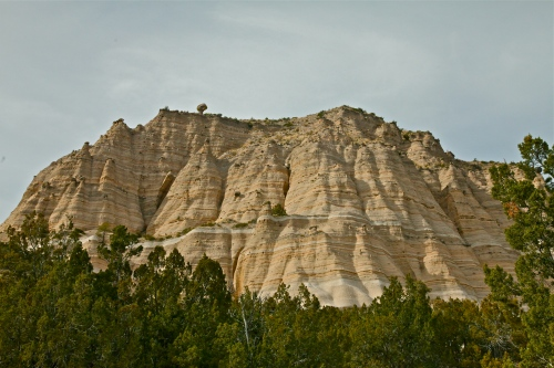 Starting up the trail at Kasha-Katuwe National Monument, New Mexico.