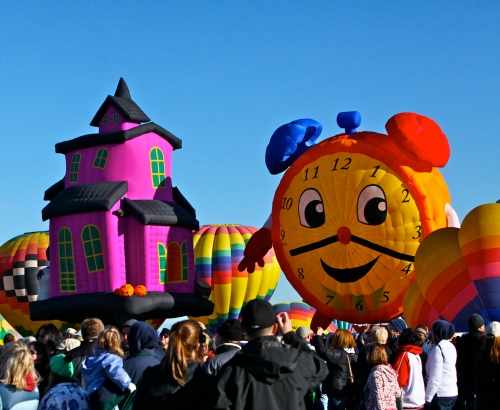 Albuquerque International Balloon Fiesta, October 8, 2011.