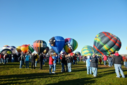Albuquerque International Balloon Fiesta, October 8, 2011.