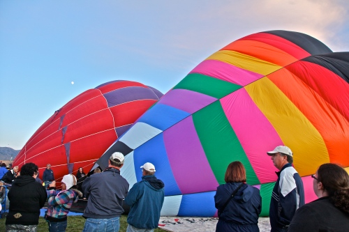 Balloon Glow, October 7, 2011